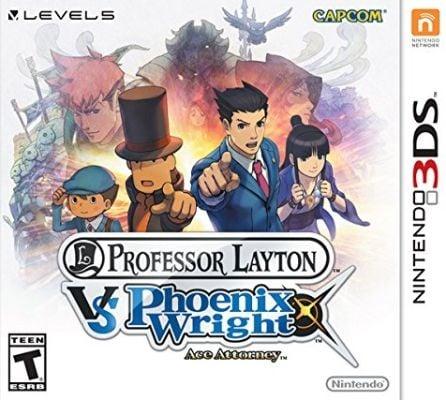 Professor Layton vs. Phoenix Wright Ace Attorney Box