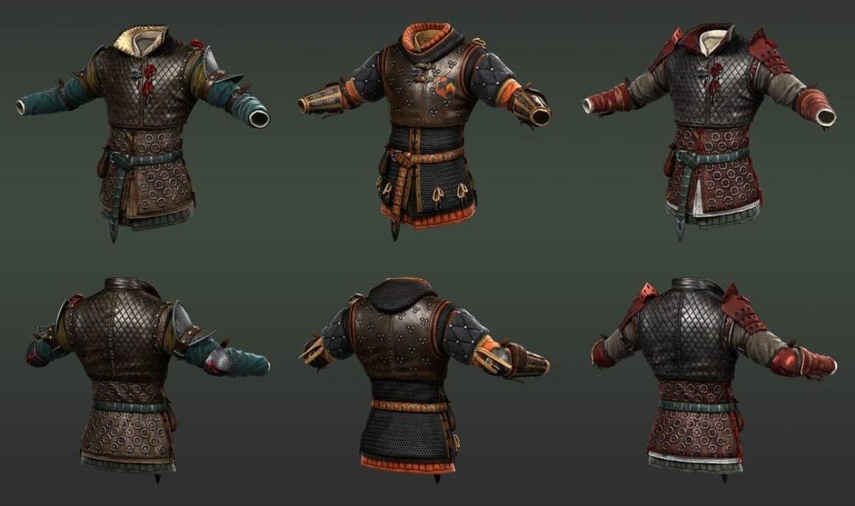 Witcher 3 Armor Artwork