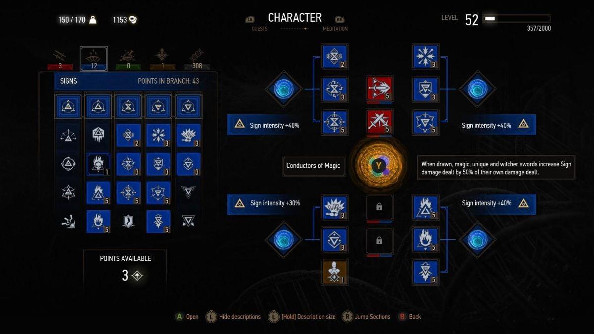Witcher 3 Build 1