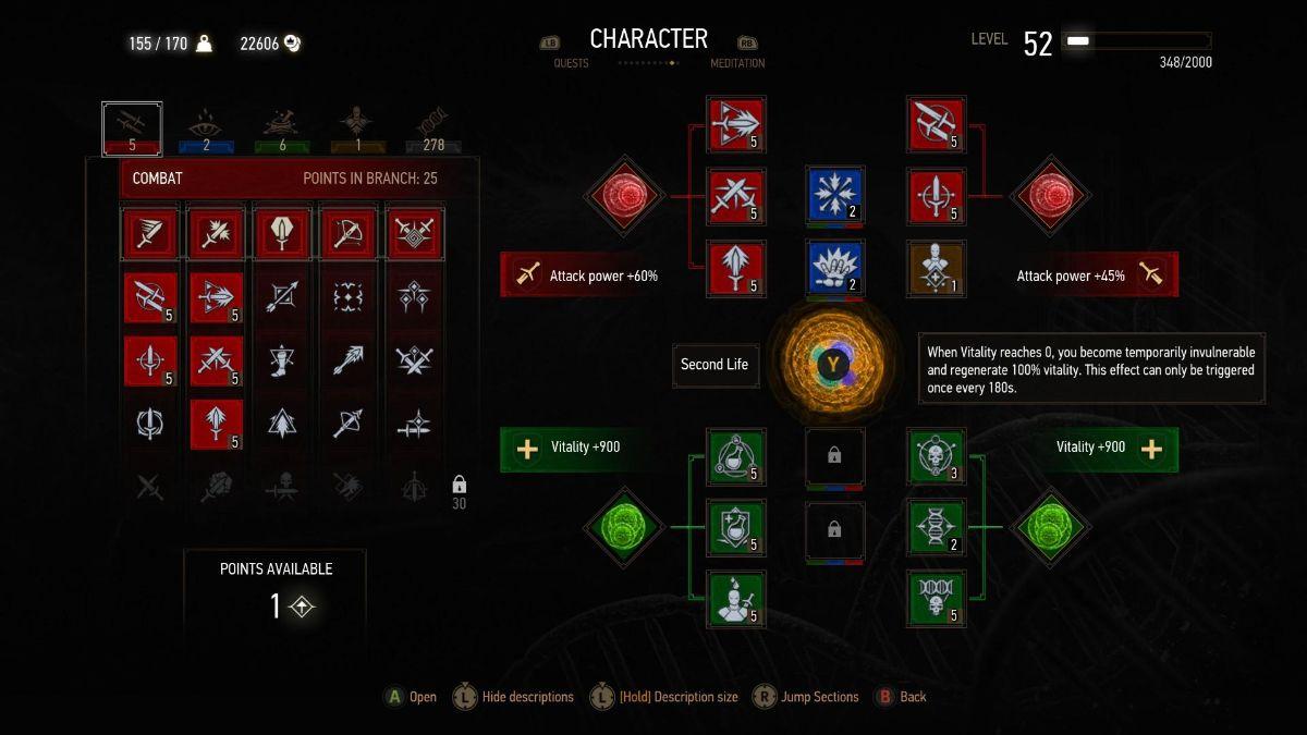 Witcher 3 Build 2