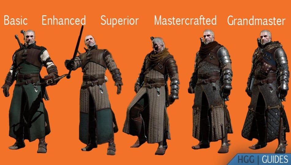 Witcher Ursine Armors