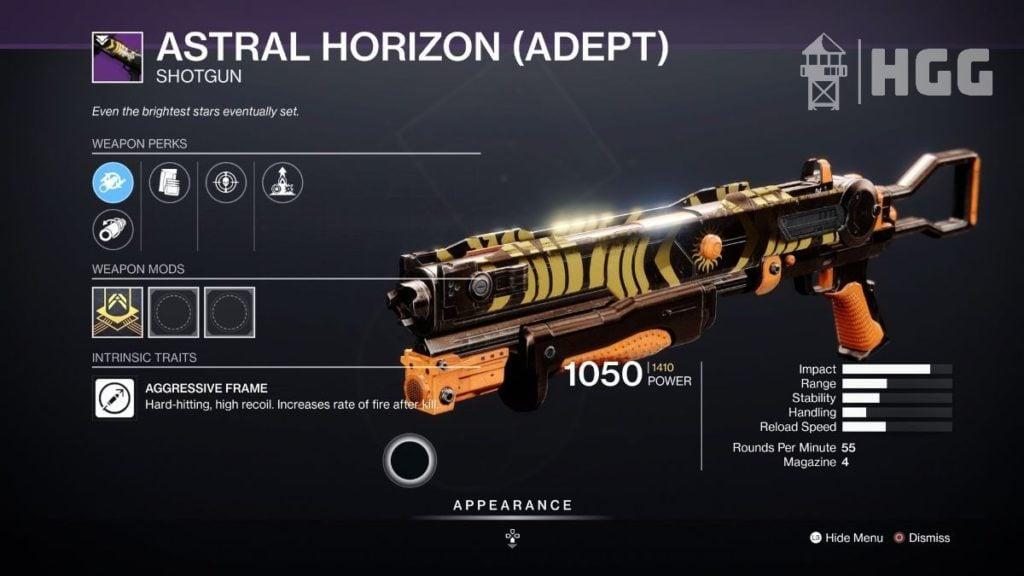 Astral Horizon Shotgun