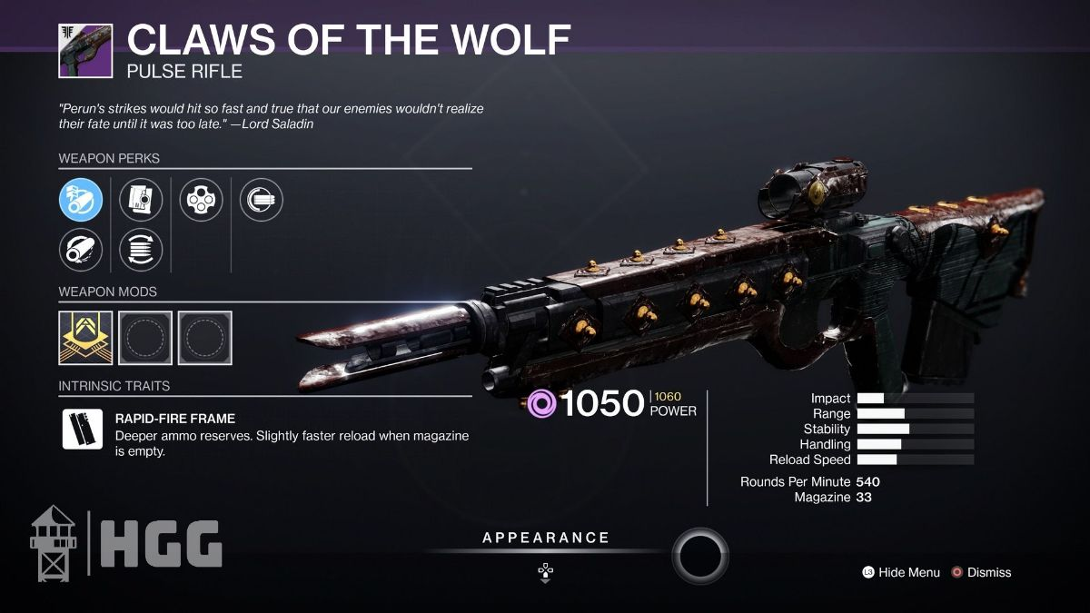 Claws of the Wolf