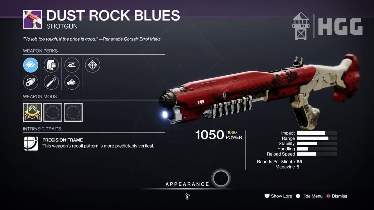 Dust Rock Blues Shotgun