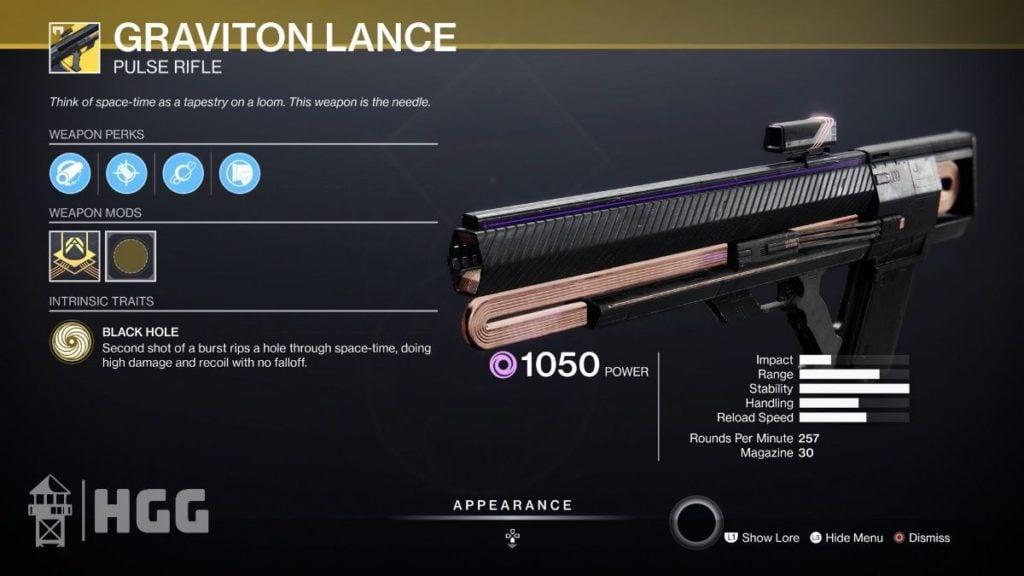 Graviton Lance