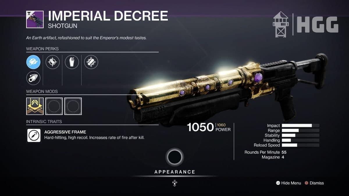 Imperial Decree Shotgun
