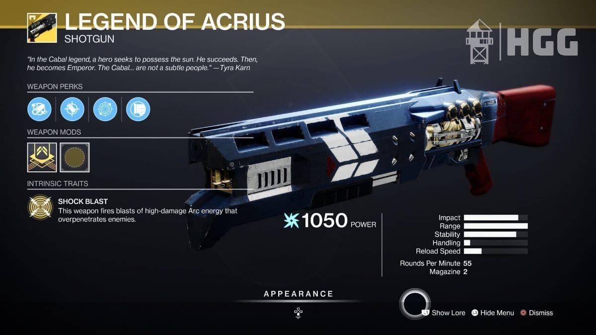 Legend of Acrius Shotgun