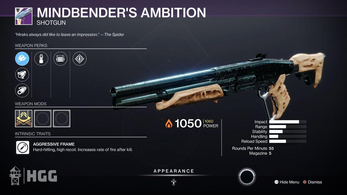 Mindbender's Ambition