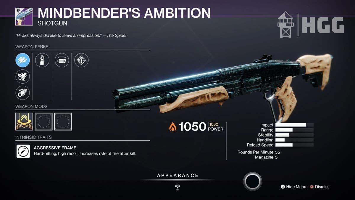 Mindbender's Ambition Shotgun