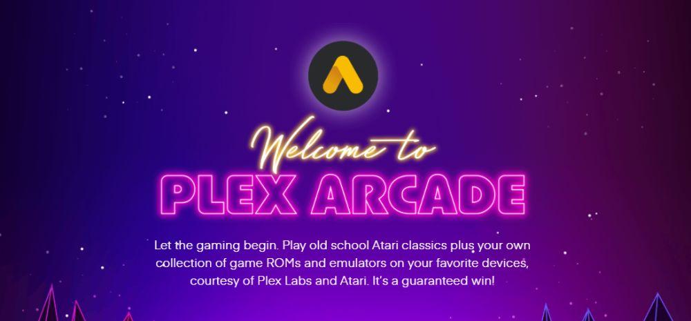 Plex Introduces Plex Arcade, Retro Gaming Platform