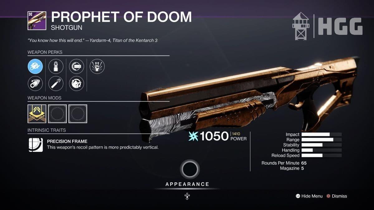 Prophet of Doom Shotgun