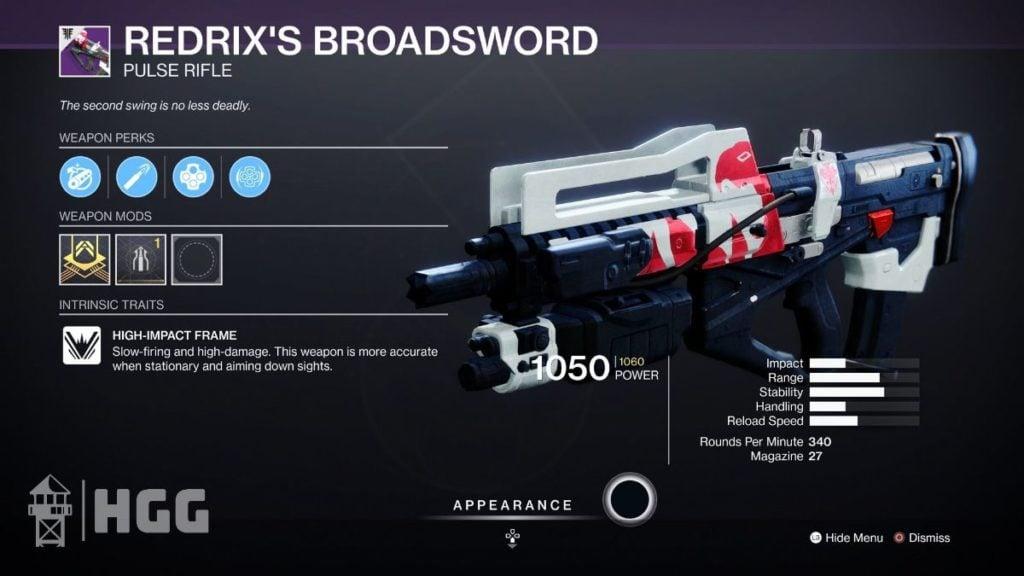 Redrix's Broadsword