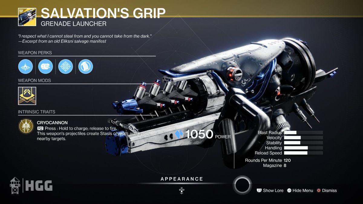 Salvation's Grip