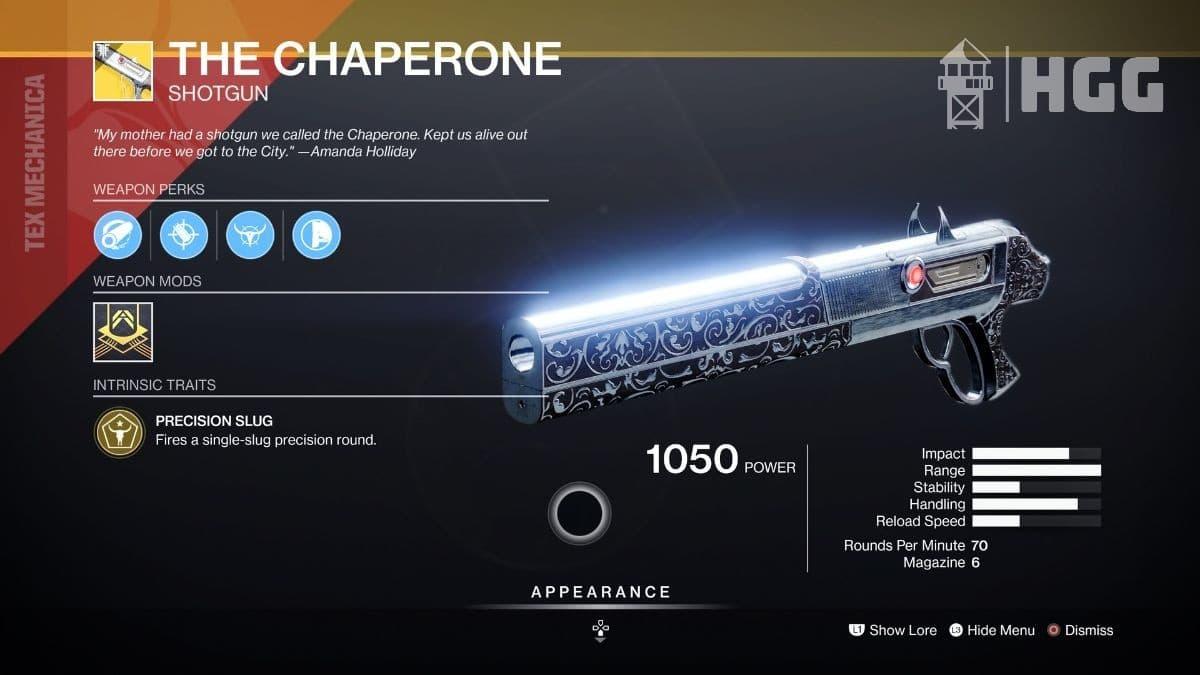 The Chaperone Shotgun