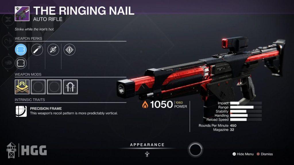 The Ringing Nail