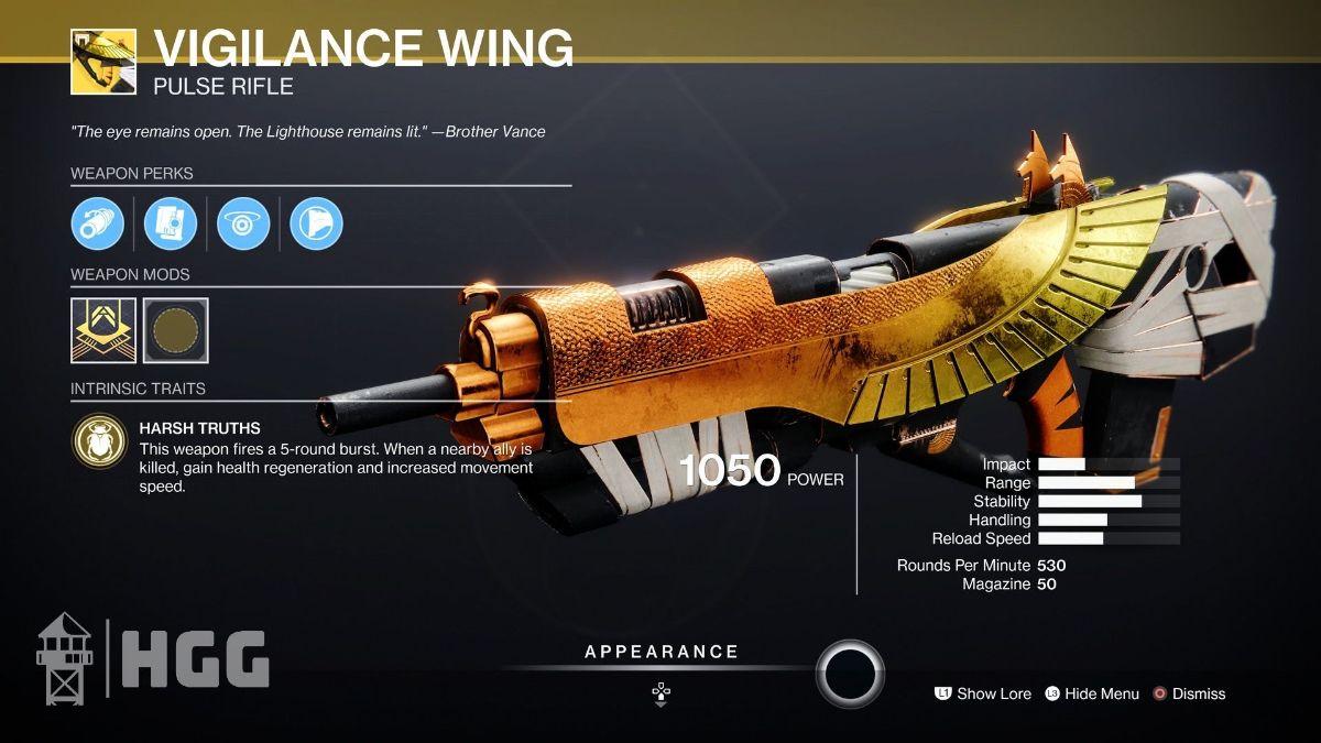 Vigilance Wing