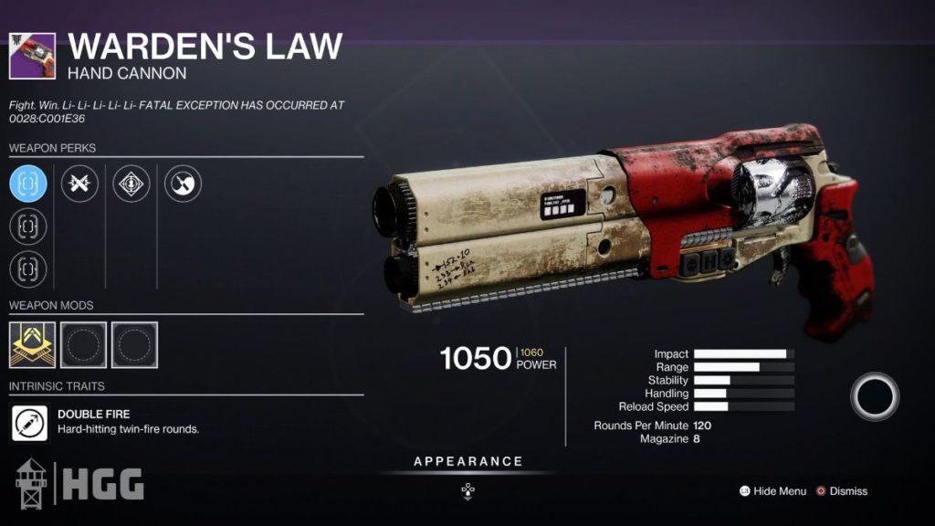 Warden's Law