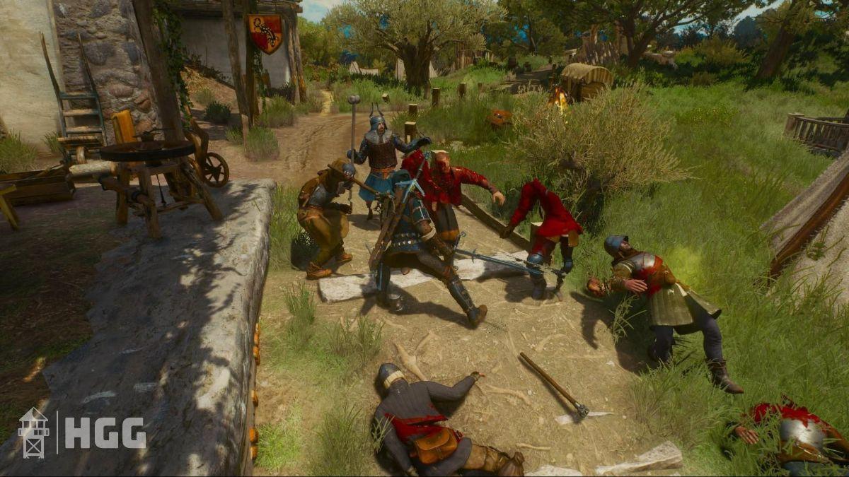 Witcher 3 Steel Swords 3