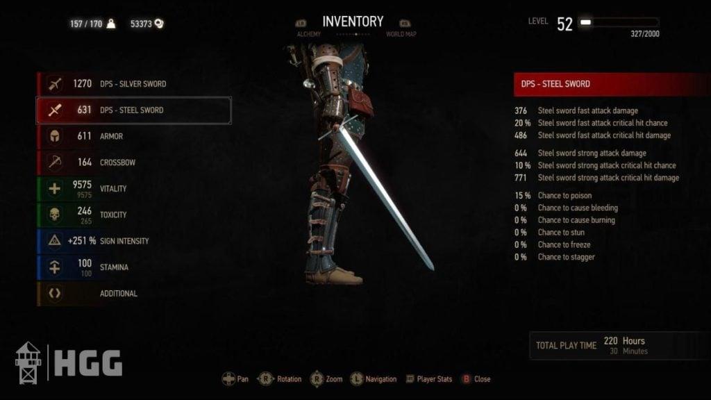 Witcher 3 Steel Swords 4