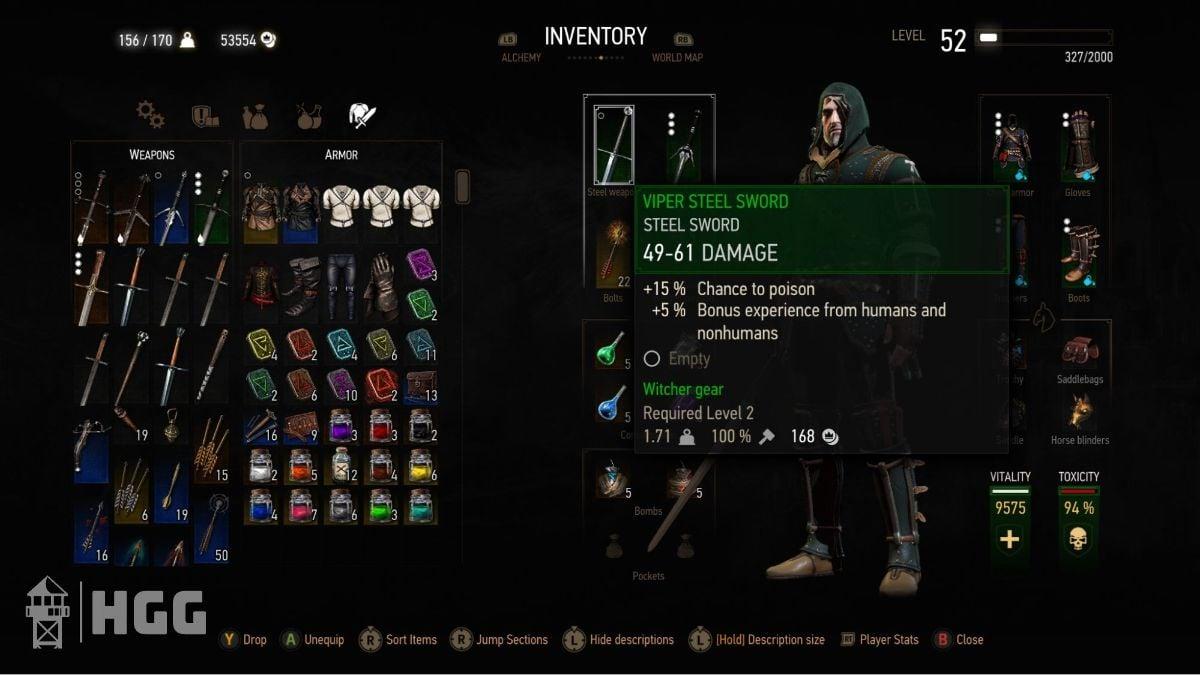 Witcher 3 Steel Swords 6