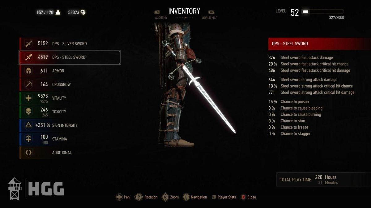 Witcher 3 Steel Swords 7