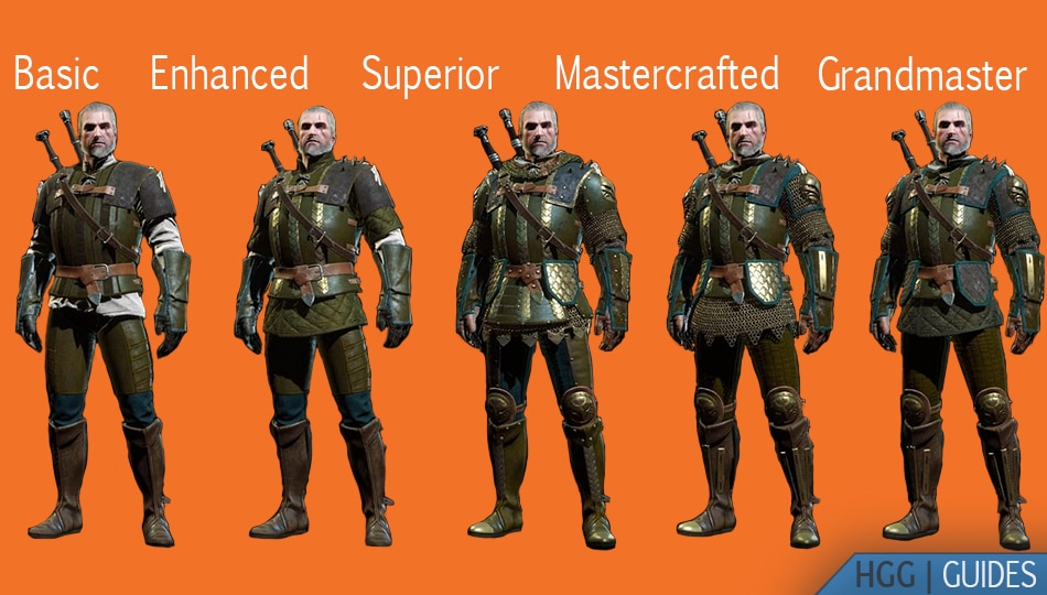 Witcher Griffin Armors