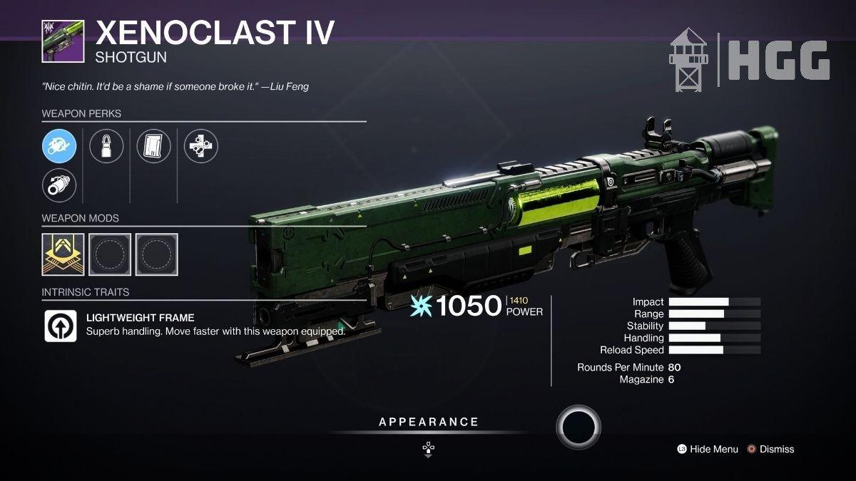 Xenoclast IV Shotgun