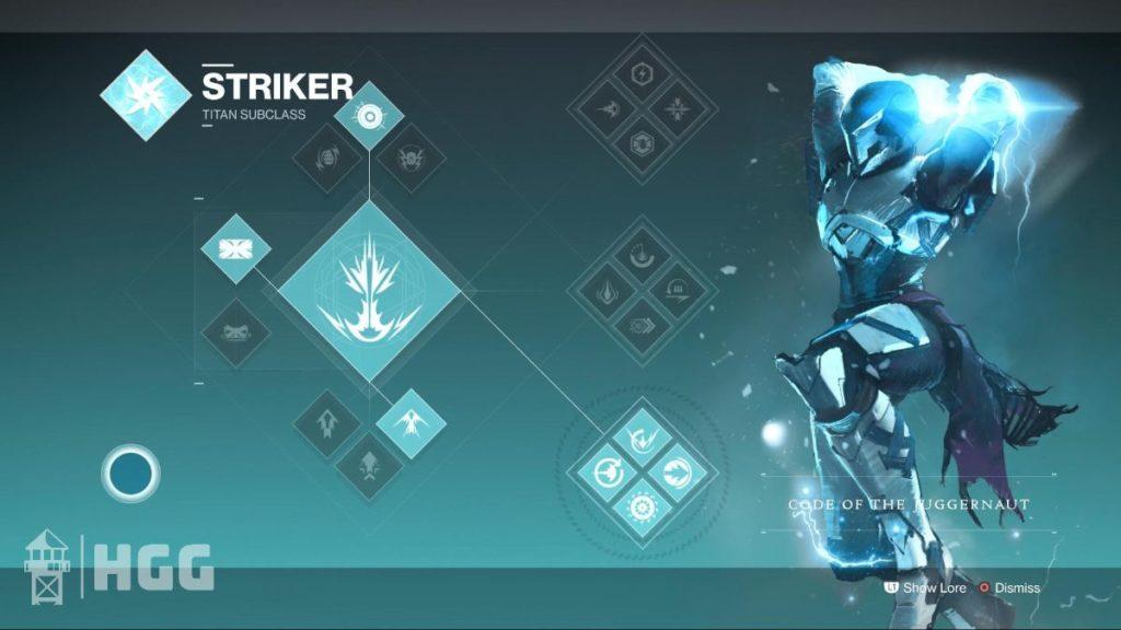 Code of the Juggernaut — Striker Subclass