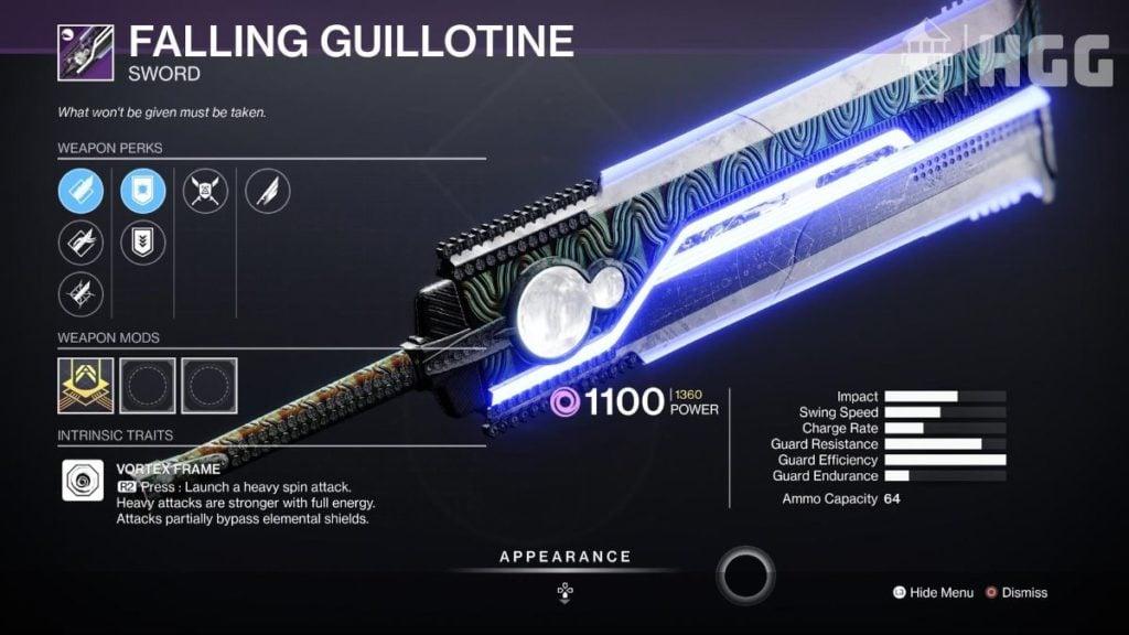 Falling Guillotine