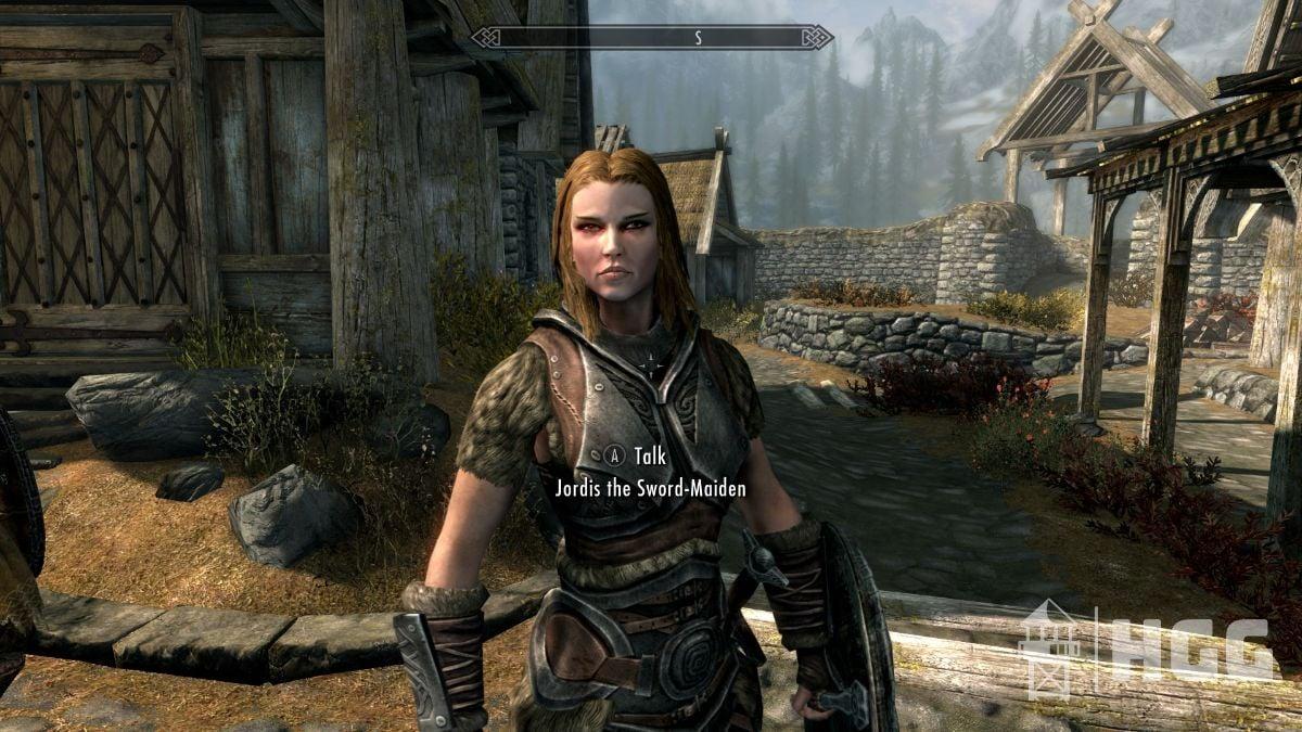 Jordis the Sword-Maiden