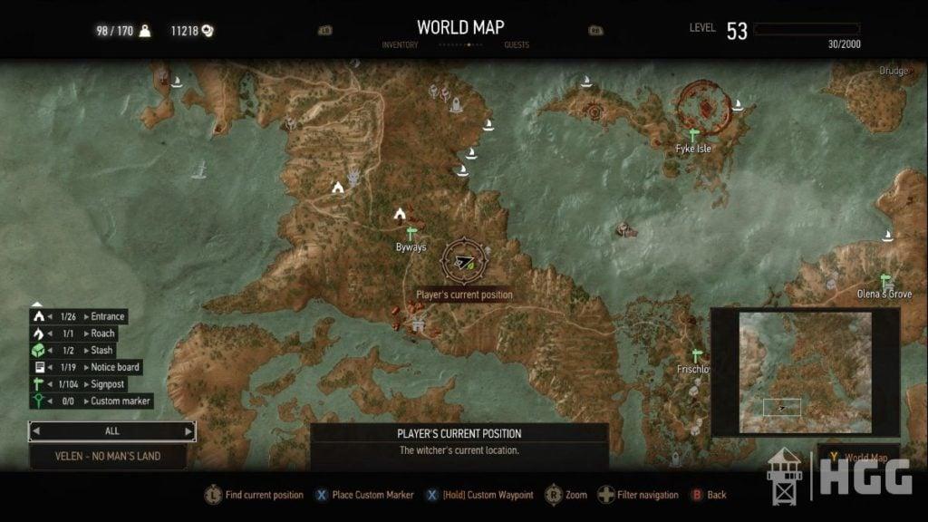 Mastercrafted Armor Diagram Map