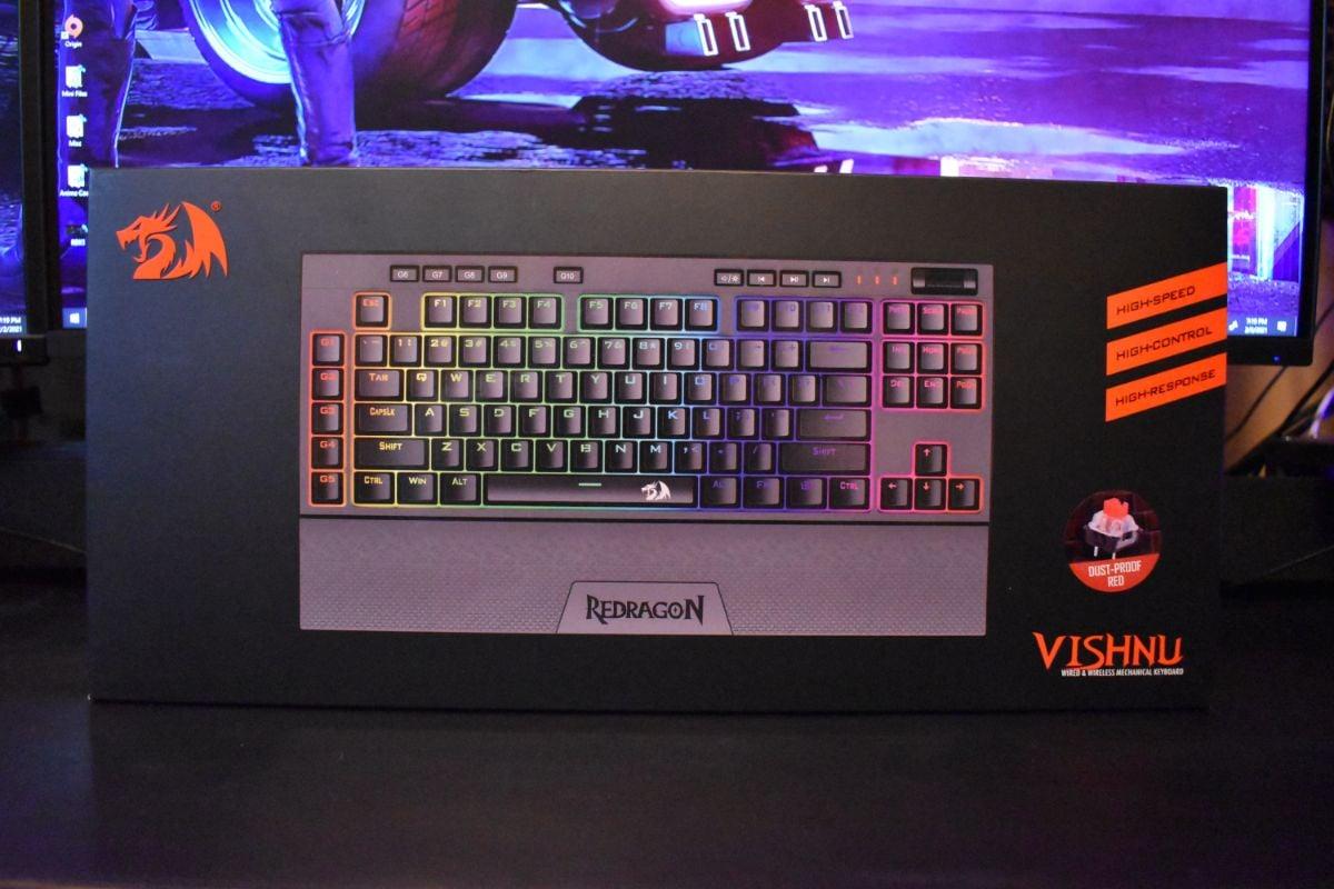 Redragon K596 Vishnu Keyboard Review