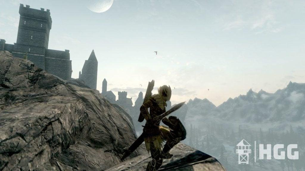 Skyrim Elven Gilded Armor
