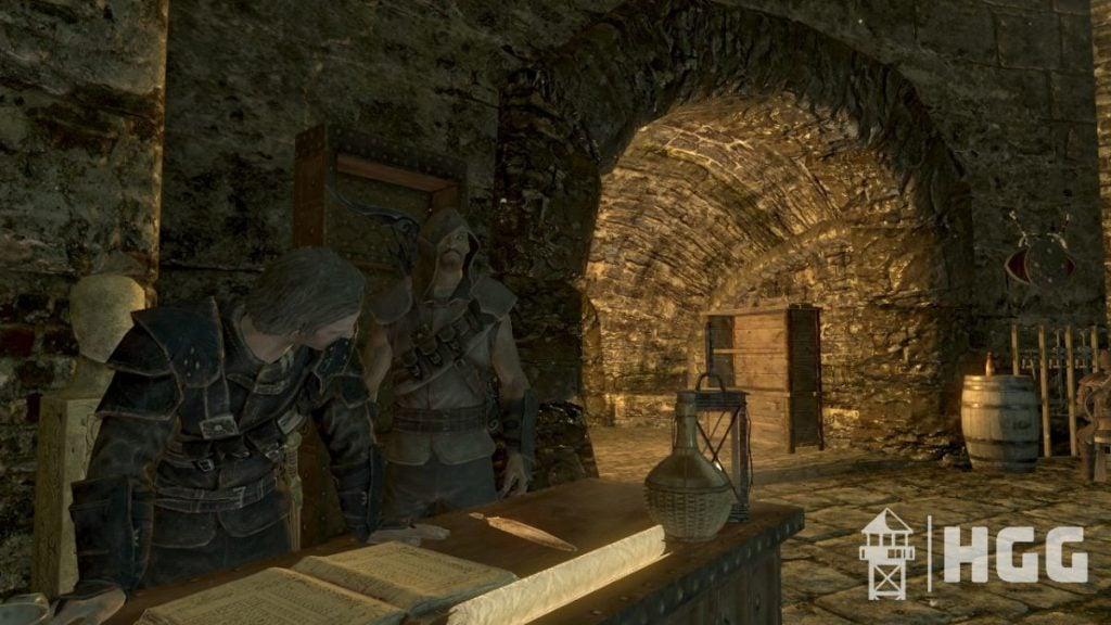 Skyrim Guildmaster Blackguard Armor