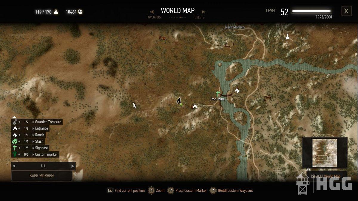 Superior Gauntlets Diagram Map