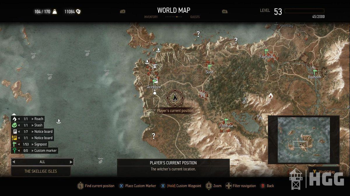 Superior Silver Sword Diagram Map