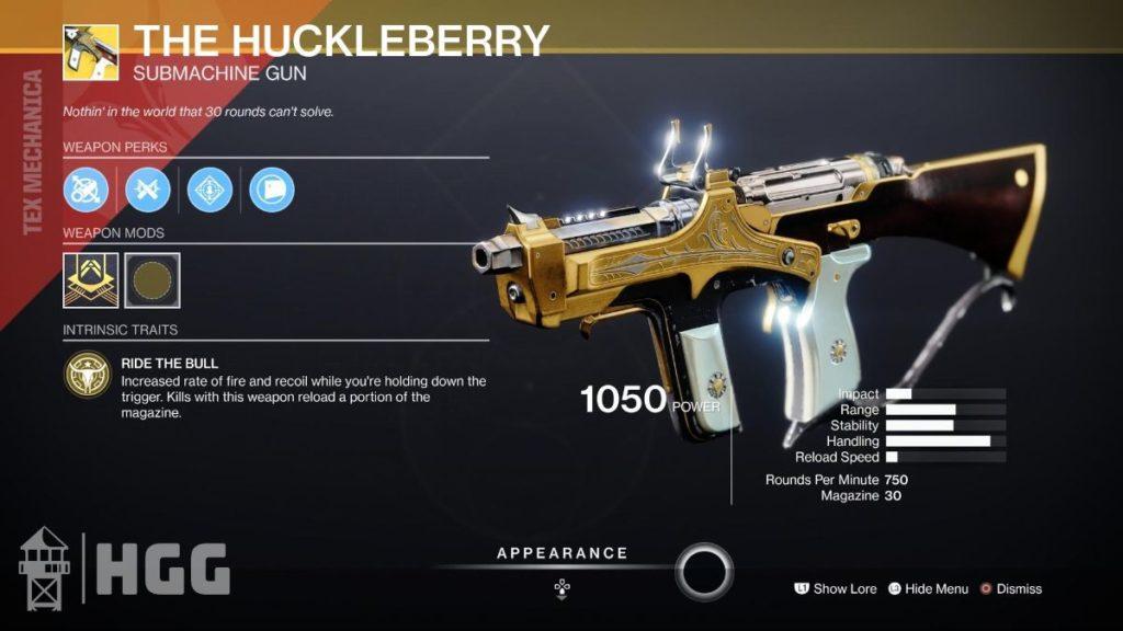 The Huckleberry