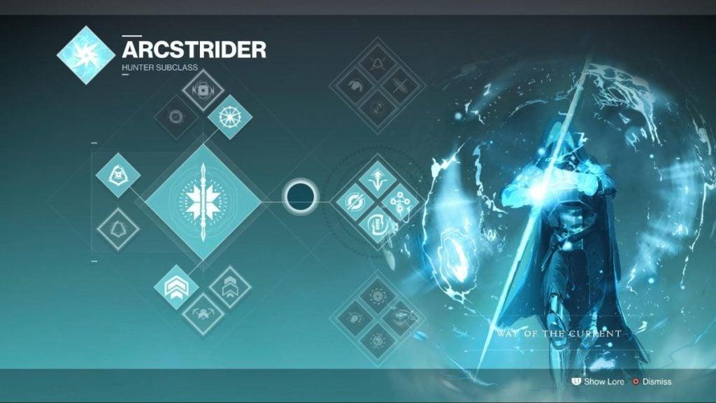 Arcstrider Current - #10 Destiny 2 Best Hunter Subclass