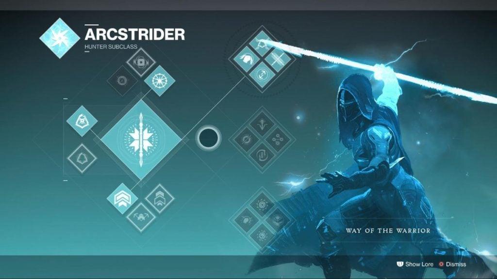 Arcstrider Warrior