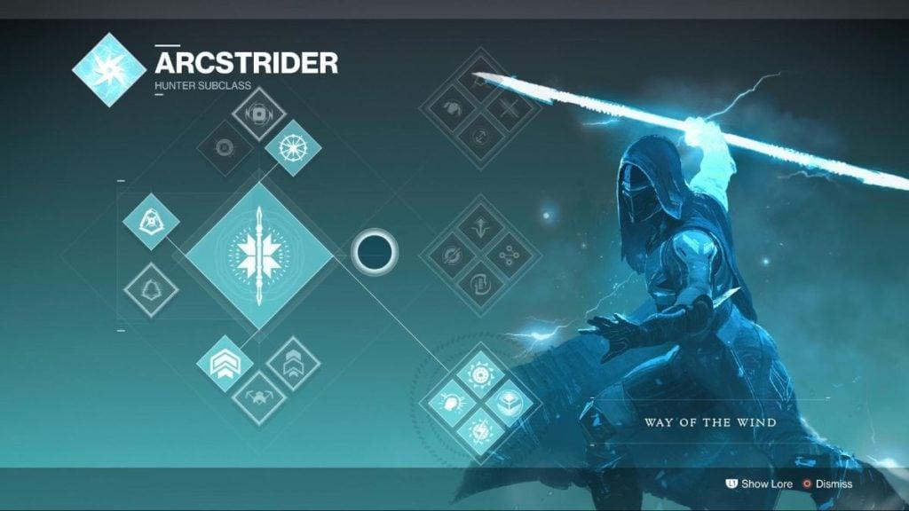 Arcstrider Wind - #5 Destiny 2 Best Hunter Subclass
