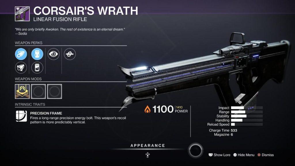 Corsair's Wrath