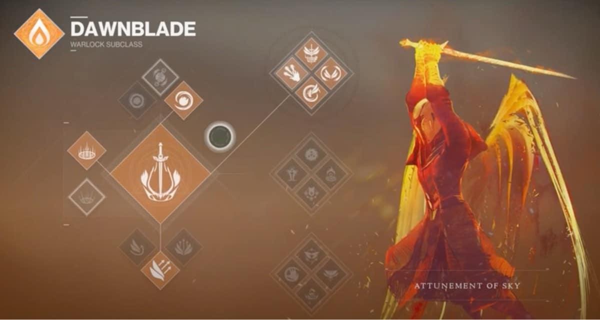 Dawnblade Attunement of Sky - #1 Destiny 2 Best Warlock Subclass