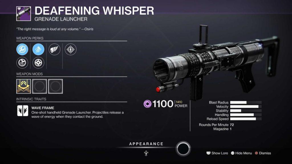 Defeaning Whisper