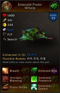 Emerald Proto-Whelp WoW