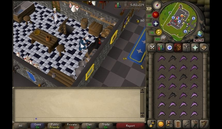 OSRS P2P Cooking 9
