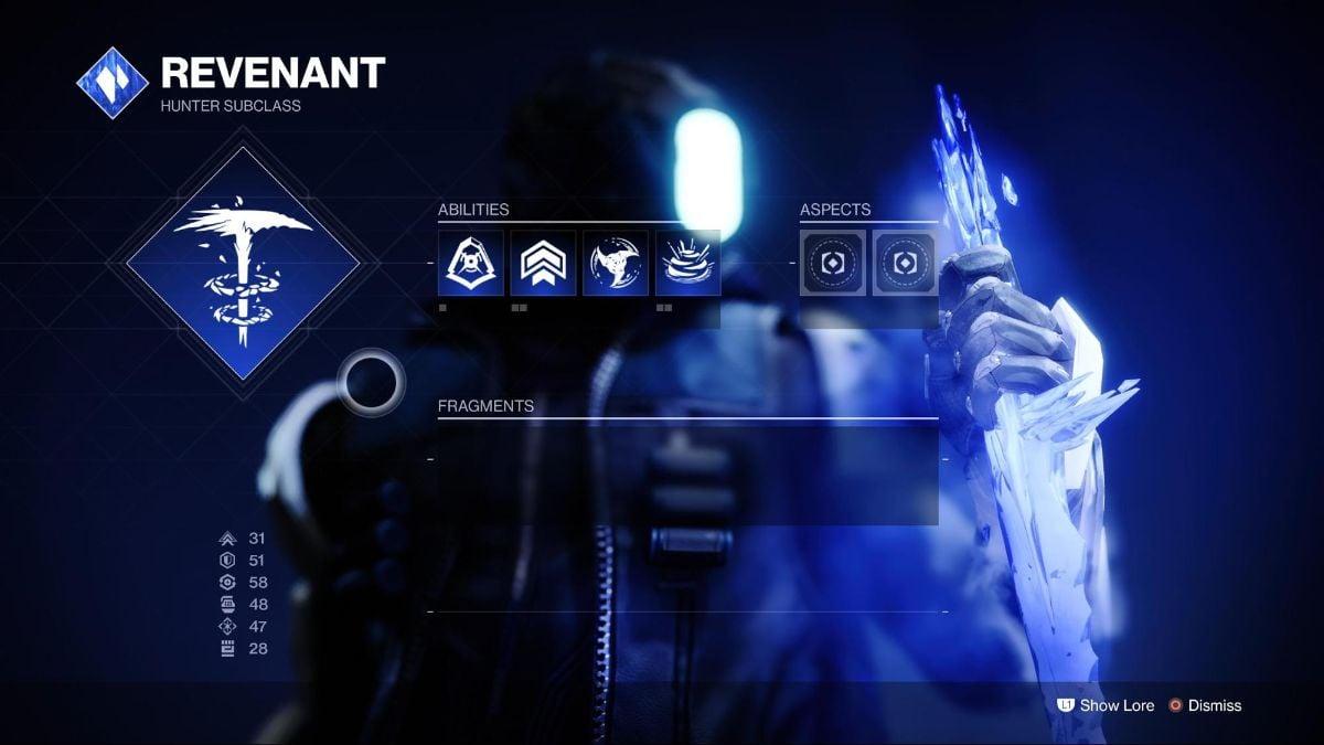 Revenant - #1 Destiny 2 Best Hunter Subclass