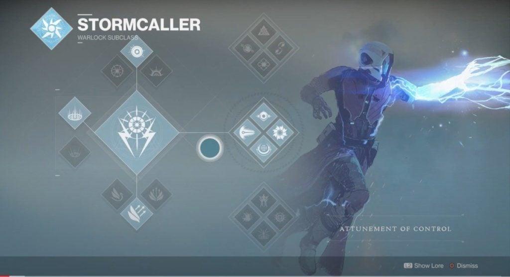 Stormcaller Attunement of Control - #5 Destiny 2 Best Warlock Subclass