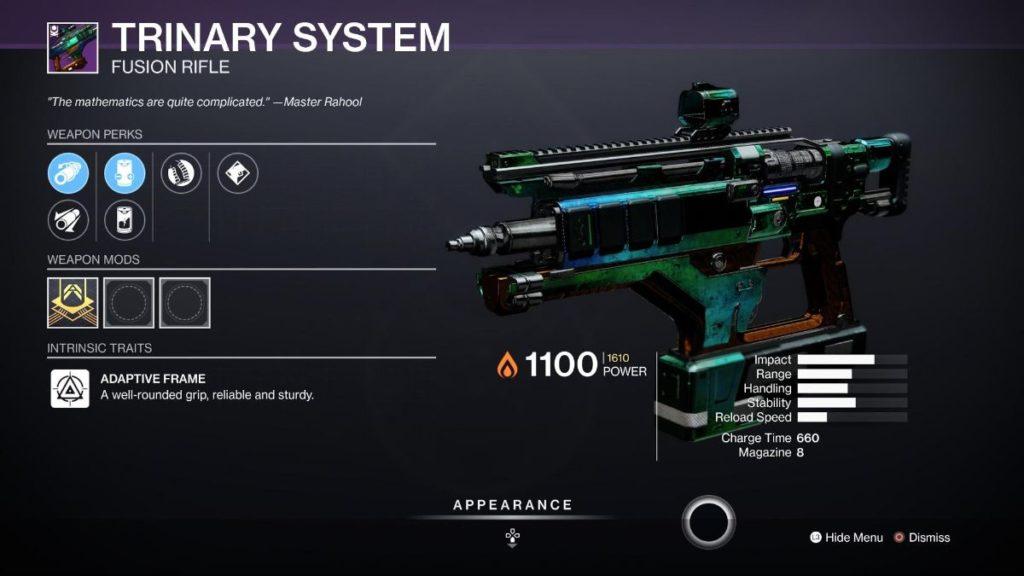 Trinary System