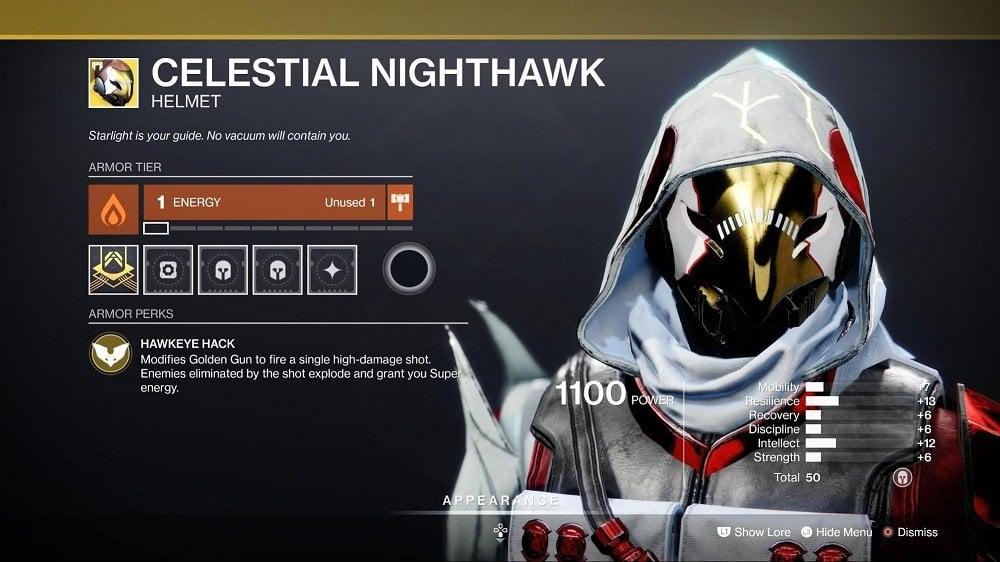 Celestial Nighthawk - Hunter Builds 1