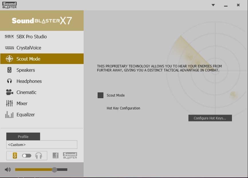 Creative Sound Blaster X7 Review SBX2 Pro Studio